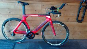 Trinity Adv cycles friwheel