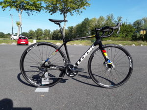 look 765 optimum proteam disc ultegra cycles friwheel