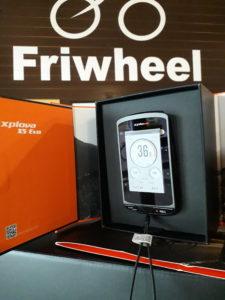 GPS Xplora X5 Evo cycles friwheel