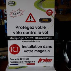 Marquage antivol vélo cyles friwheel